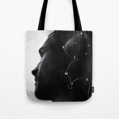 Optimist Pessimist Tote Bag