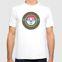 Spaceman 3 Mens Fitted Tee White SMALL