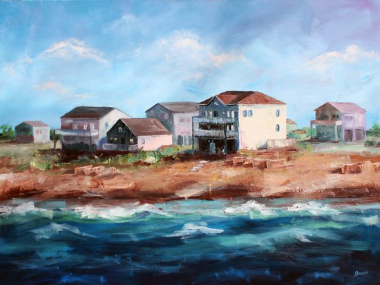 Outer Banks Art Print