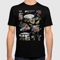 The Next Germination Mens Fitted Tee Black SMALL