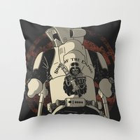 Sons of the Empire Throw Pillow