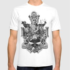 PAGAN WICCAN II Mens Fitted Tee White SMALL