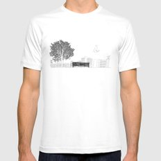 Tom's Favourite Spot —Angels Knoll Park, LA —(500) Days of Summer SMALL Mens Fitted Tee White