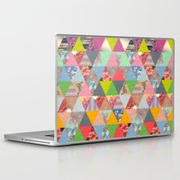 lost Laptop & iPad Skins featuring Lost in ▲ by Bianca Green