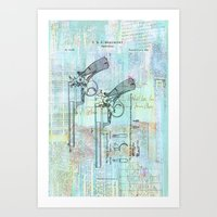 Beaumont Revolver  Art Print
