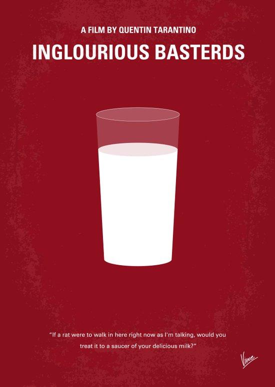 No138 My Inglourious Basterds minimal movie poster Canvas Print