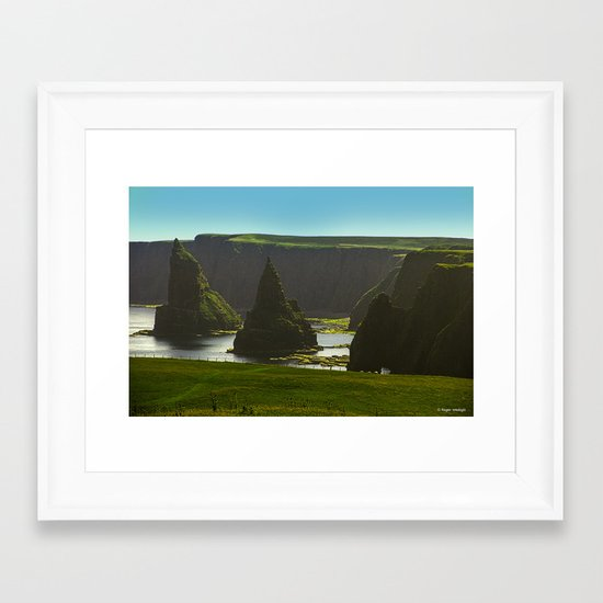 Sea Stacks at Duncansby Head Framed Art Print