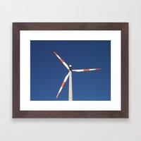 :: wind wheel :: Framed Art Print