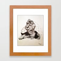 Turtle Framed Art Print