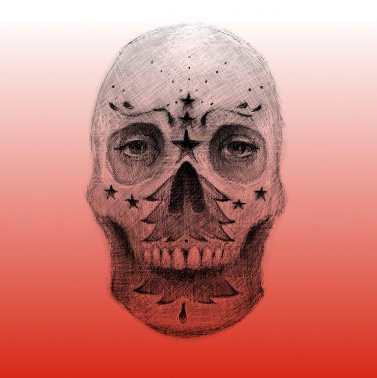 #34 - Christmas Tree Sugar Skull Art Print