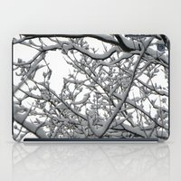 Snow Covered Branches iPad Case