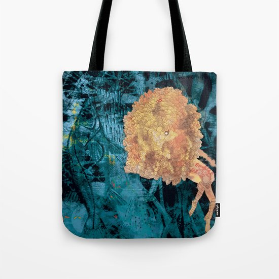 Something on Her mind.. Tote Bag