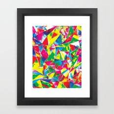 Rave Paint Framed Art Print