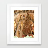 Christmas in Amsterdam Framed Art Print
