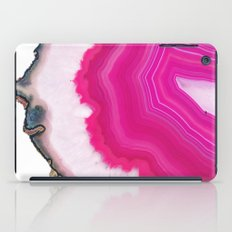 Pink Agate Slice iPad Case