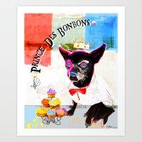 (CYRUS) Prince Des Bonbo… Art Print