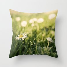 flower Margarita Throw Pillow