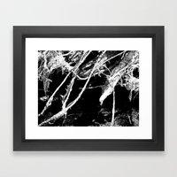 Branch Abstract Framed Art Print