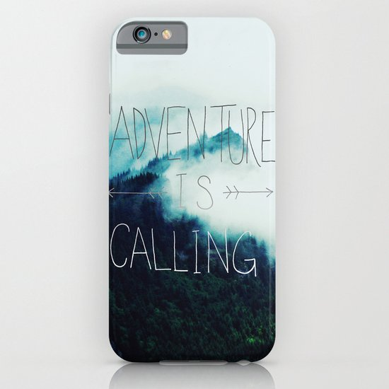Adventure Mountain iPhone & iPod Case