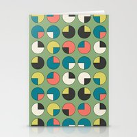 Pie Green Stationery Cards