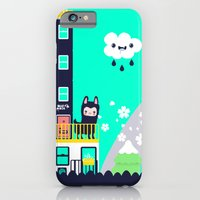 iPhone & iPod Case featuring Small Town by jusum