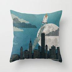 Rocket City Throw Pillow
