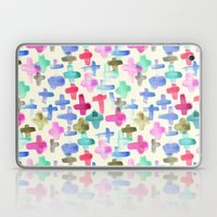 Pluses Laptop & iPad Skin
