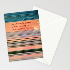 Glitch Magic Stationery Cards