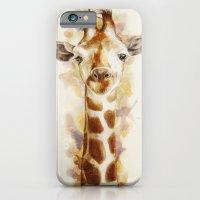 giraffe iPhone & iPod Cases featuring giraffe by beart24