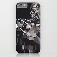 iPhone & iPod Case featuring Targeted for Termination (The Terminator) by Liam Brazier