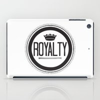You Are #Royalty iPad Case