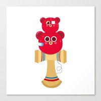 OllaKendama Canvas Print