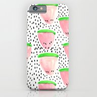Watermelon Print II iPhone 6 Slim Case