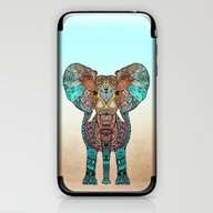 iPhone & iPod Skin featuring ElePHANT by Monika Strigel