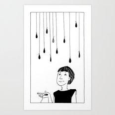This Rain Sucks Art Print