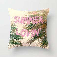Summer Lovin' I Throw Pillow