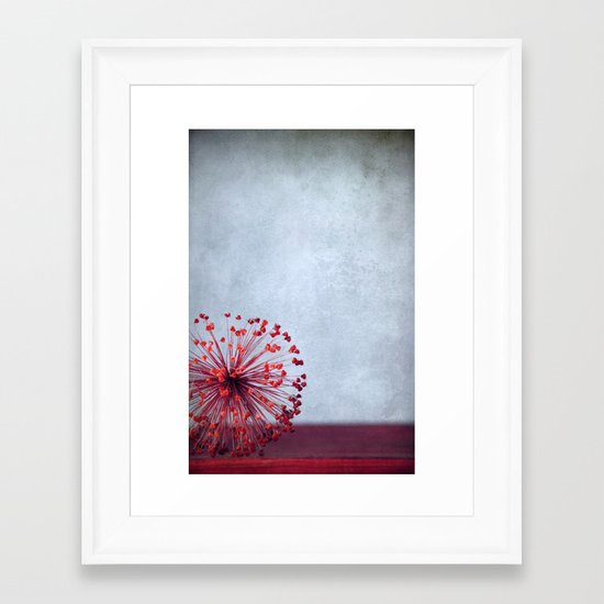 Allium Framed Art Print