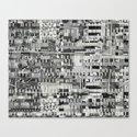 Exploiting Digital Behavior (P/D3 Glitch Collage Studies) Canvas Print