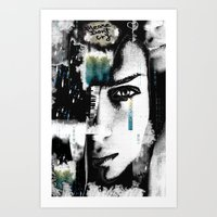 Please Don't Cry Art Print