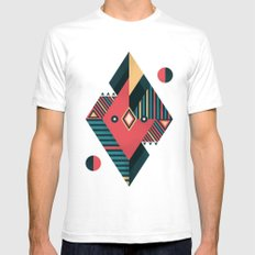 Arrow 03 Mens Fitted Tee White SMALL