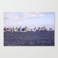 Good Morning San Diego  Canvas Print