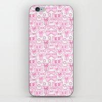 bows pink iPhone & iPod Skin
