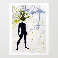 open minded Art Print