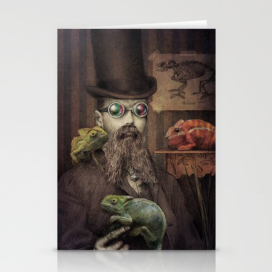 The Chameleon Collector Stationery Card