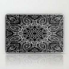 Black & White Paisley  Laptop & iPad Skin