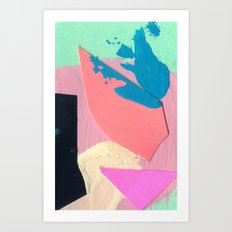 Tiny Two  Art Print