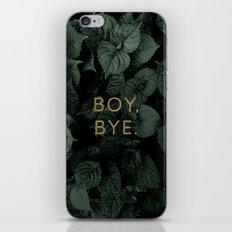 Boy, Bye - Vertical iPhone & iPod Skin