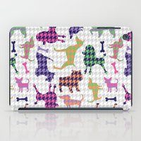 Houndstooth Hounds iPad Case