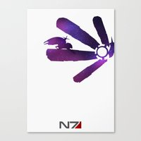 Mass Effect 1 (w/quote) Canvas Print