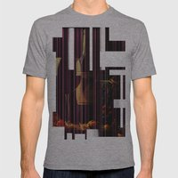 Still Life Texture Mens Fitted Tee Athletic Grey SMALL
